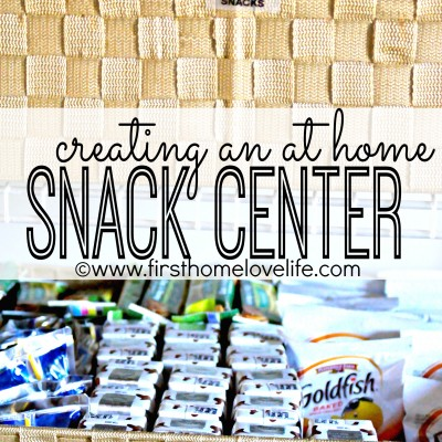 At Home Snack Center