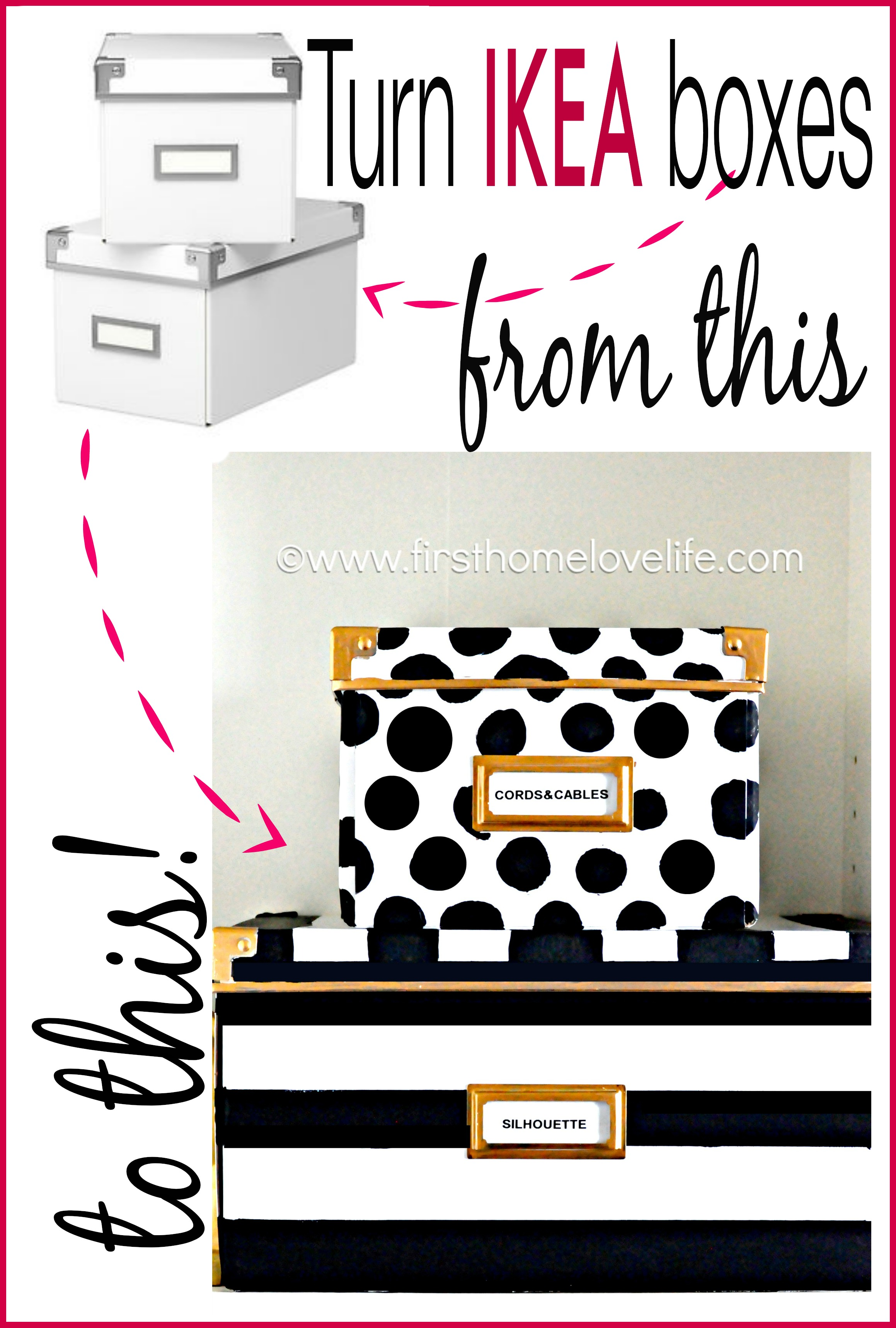 Incroyable Kate Spade Inspired Storage Boxes To Hide Away All Of Those Loose Office  Items! #