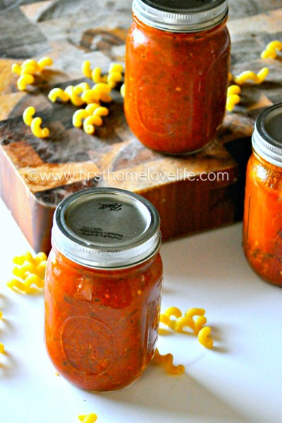 Perfect Crock Pot Marinara