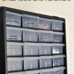 How to Organize Small Tools and Hardware