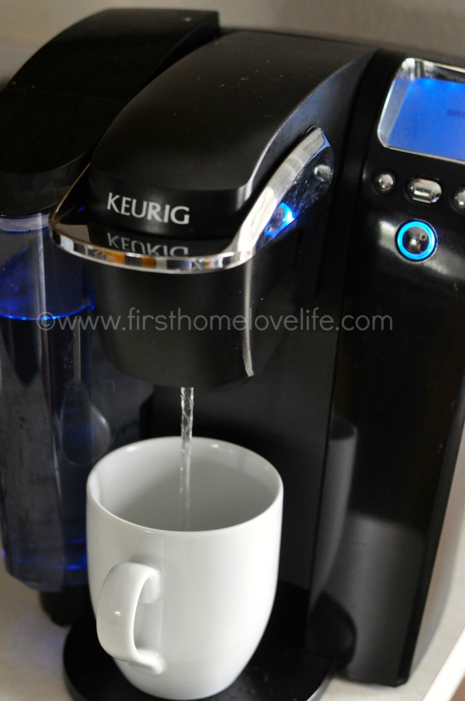 Coffee Maker Clean Button : How to Clean a Clogged Keurig - First Home Love Life