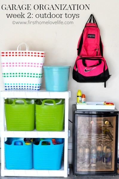 Garage Organization: Outdoor Toys