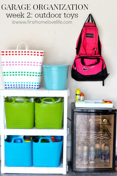 Garage Storage Organization Ideas - Toys, Kid Zone
