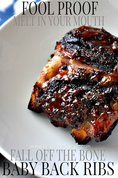 Fool Proof {Fall Off The Bone} Ribs - First Home Love Life
