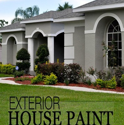 Exterior House Paint Update