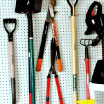 Garage Organization: Yard Tools
