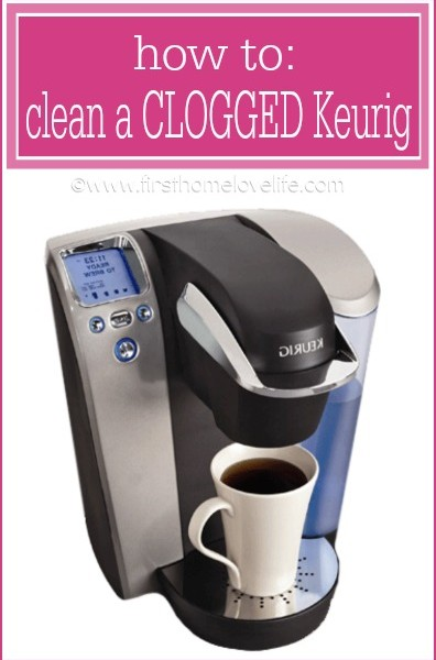 How to Clean a Clogged Keurig