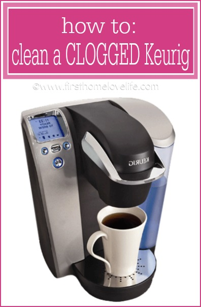 How to easily clean a Keurig coffee machine, and clear out any blockage you may have!