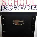 School Paperwork Storage