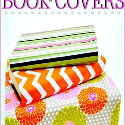 DIY Fabric Book Covers