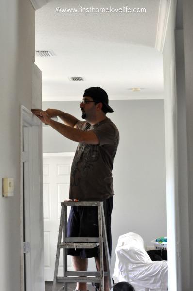 taping walls