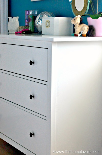 Hemnes 3 drawer dressser organization www.firsthomelovelife.com