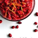 Fresh and Fruity Cranberry Relish