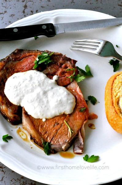 prime rib with horseradish cream