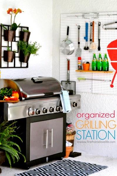 DIY Grilling Station