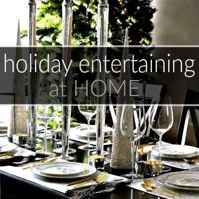 Holiday Entertaining #AtHomeForChristmas