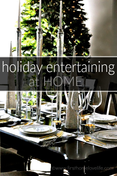 holiday entertaining at home