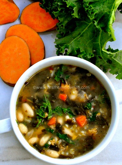 healthy soup recipe via firsthomelovelife.com