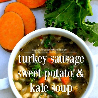 Sausage, Sweet Potato, and Kale Soup