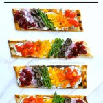 Grilled Goat Cheese and Veggie Pizza