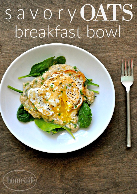 healthy breakfast idea savory oats first home love life
