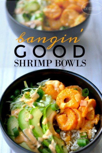 Bangin Good Spicy Shrimp Bowls