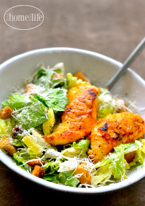 buffalo chicken caesar salad