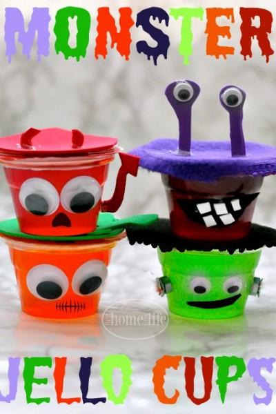 Monster Jello Cups