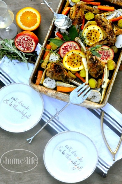 Sheet Pan Turkey with Root Vegetables