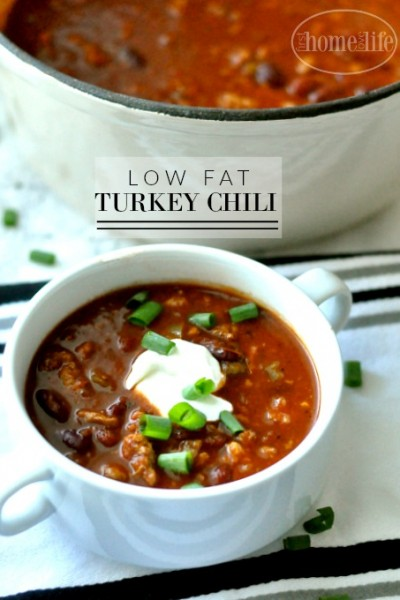Low Fat Turkey Chili