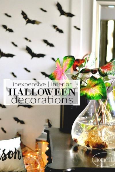 Inexpensive Interior Halloween Decorations