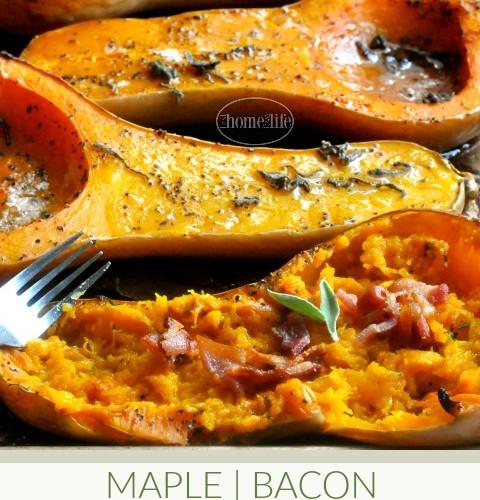 Maple Bacon Butternut Squash