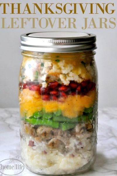 Thanksgiving Leftover Jars