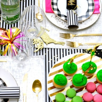 Kate Spade Inspired Holiday Party