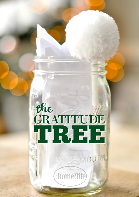 Start a new holiday tradition in your home by creating a gratitude tree via firsthomelovelife.com