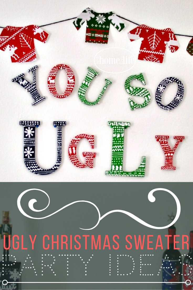 Ugly Christmas Sweaters Party Ideas Part - 35: UGLY CHRISTMAS SWEATER PARTY IDEAS VIA FIRSTHOMELOVELIFE.COM