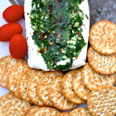Garlic and Herb Cheese Spread