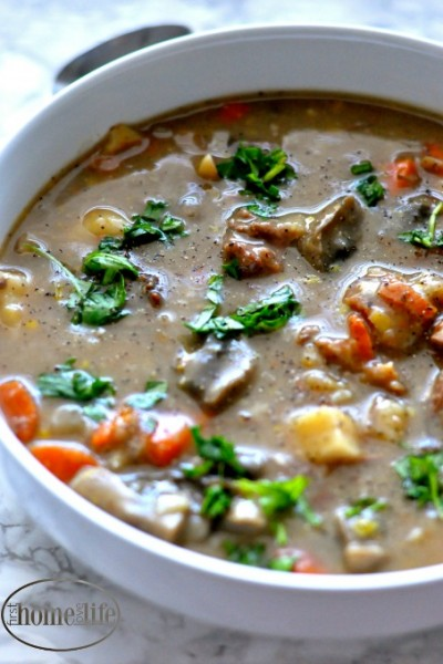 The perfect chilly winters night one pot dinner idea | Pot roast stew is a great family recipe via firsthomelovelife.com