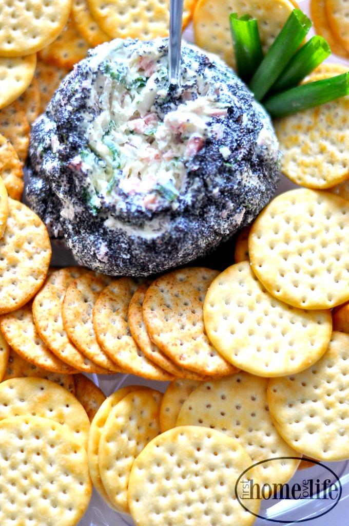 crack dip cheese ball