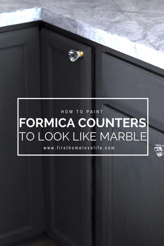 DIY Inexpensive Kitchen Upgrade | How To Paint Formica Counter Tops To Look  Like Marble Granite