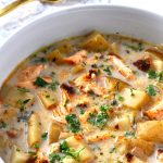 Smoked Salmon & Potato Chowder