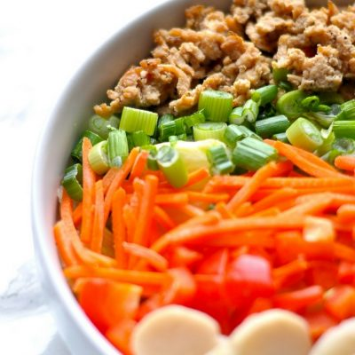 Lettuce Wrap Salad