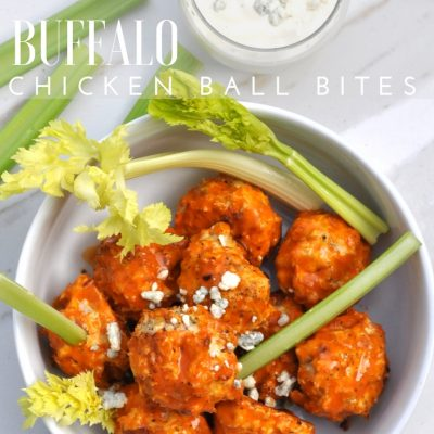 Buffalo Chicken Ball Bites