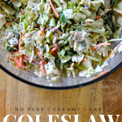 Creamy Sweet Coleslaw